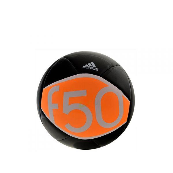 ADIDAS Pallone da calcio nero/arancione
