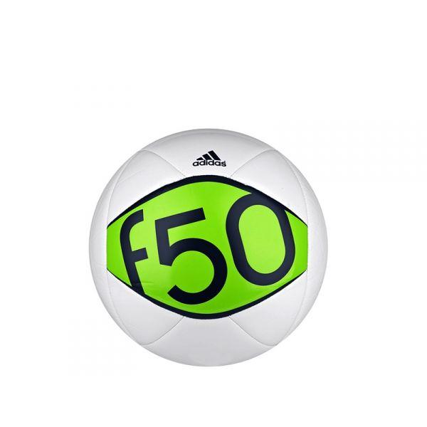 ADIDAS F50 Pallone da calcio bianco/verde