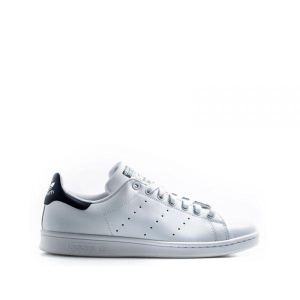 ADIDAS STAN SMITH Sneaker uomo bianca/blu in pelle