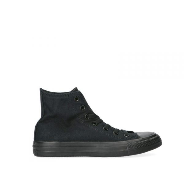 CONVERSE CHUNCK TAYLOR Sneaker donna nera in tessuto
