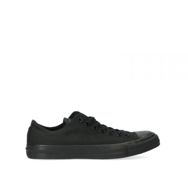 CONVERSE CHUNCK TAYLOR Sneaker uomo nera in tessuto
