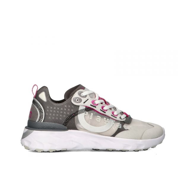 PLAY HAT Sneaker donna argento/grigia