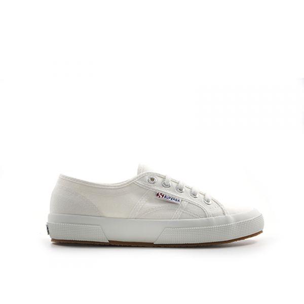 SUPERGA Sneaker donna bianco in tessuto