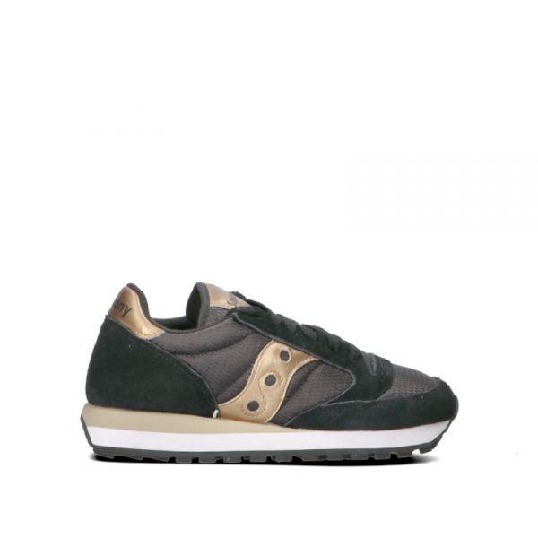 SAUCONY JAZZ ORIGINAL Sneaker donna nera/oro