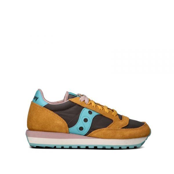 SAUCONY JAZZ ORIGINAL Sneaker donna grigia/senape