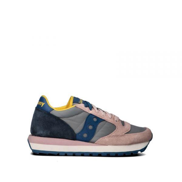 SAUCONY JAZZ ORIGINAL Sneaker donna grigia/rosa/blu