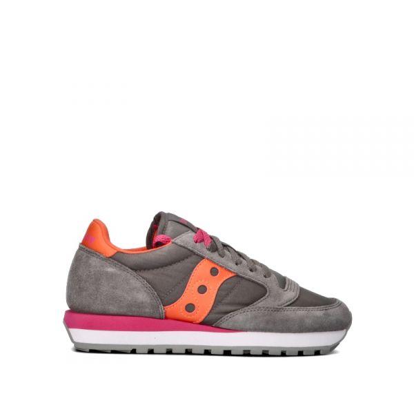 SAUCONY JAZZ ORIGINAL Sneaker donna grigia/arancione