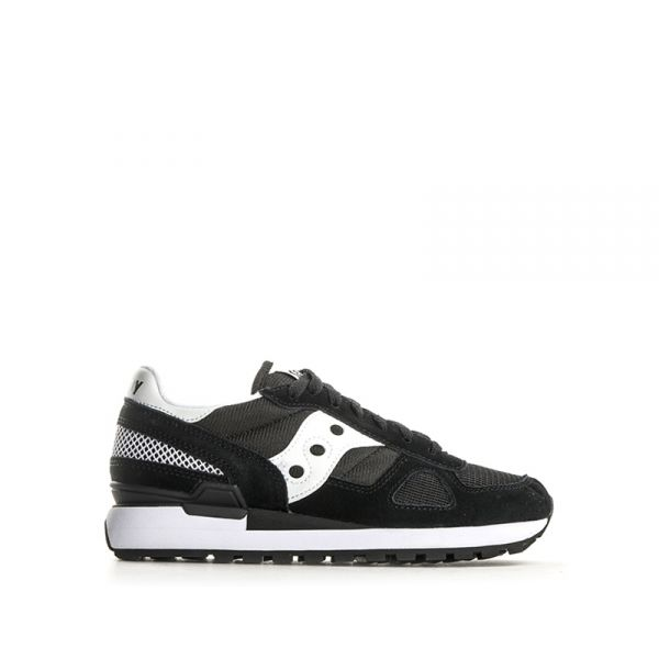 SAUCONY SHADOW ORIGINAL Sneaker donna nerabianca suede