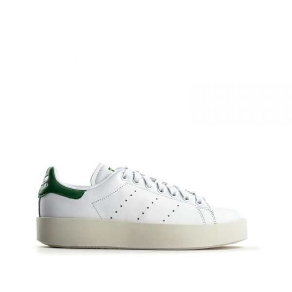 ADIDAS STAN SMITH Sneaker donna bianca in pelle platform