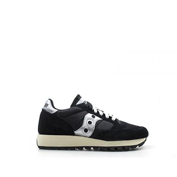 SAUCONY JAZZ ORIGINAL VINTAGE Sneaker donna nera suede