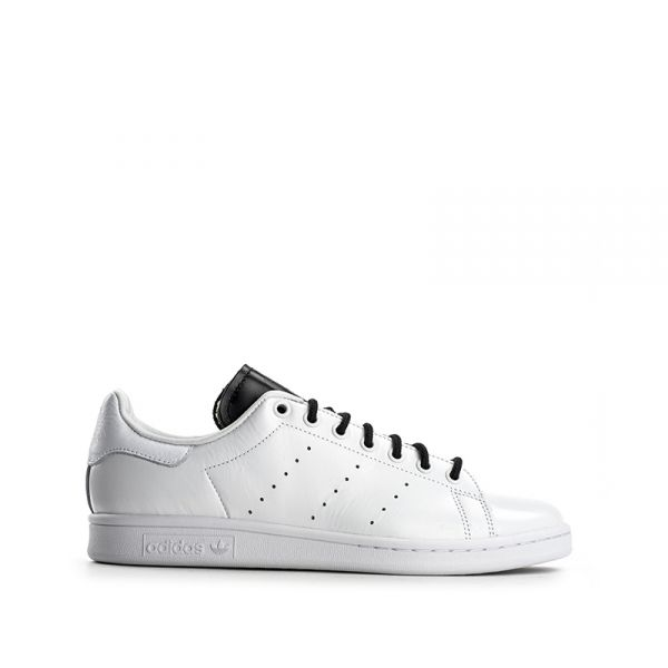 low priced d169a e7c96 ADIDAS STAN SMITH Sneaker uomo bianca nera in pelle