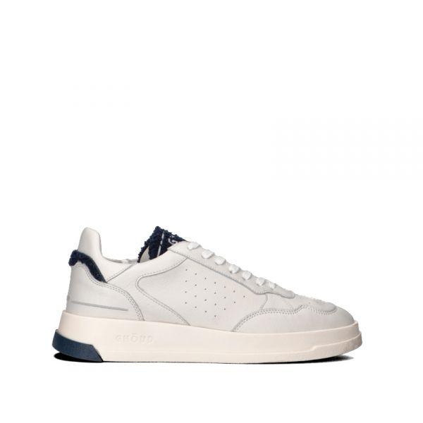 GHOUD Sneaker uomo bianca/blu