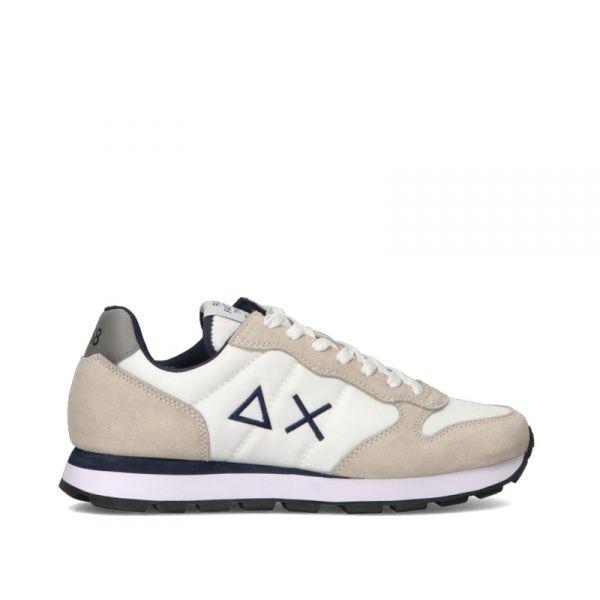 SUN68 Sneakers uomo bianca/azzurra