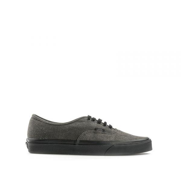 VANS AUTHENTIC Sneaker uomo grigia scura/nera in tessuto