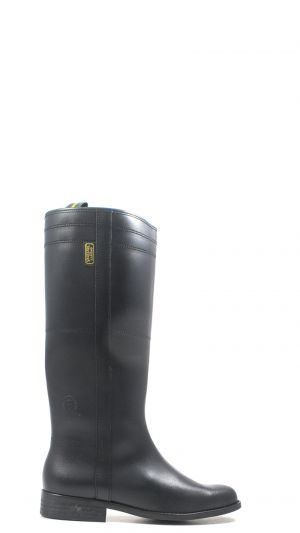 UGG Black Silva Leather Motorcycle Size 8 Boots