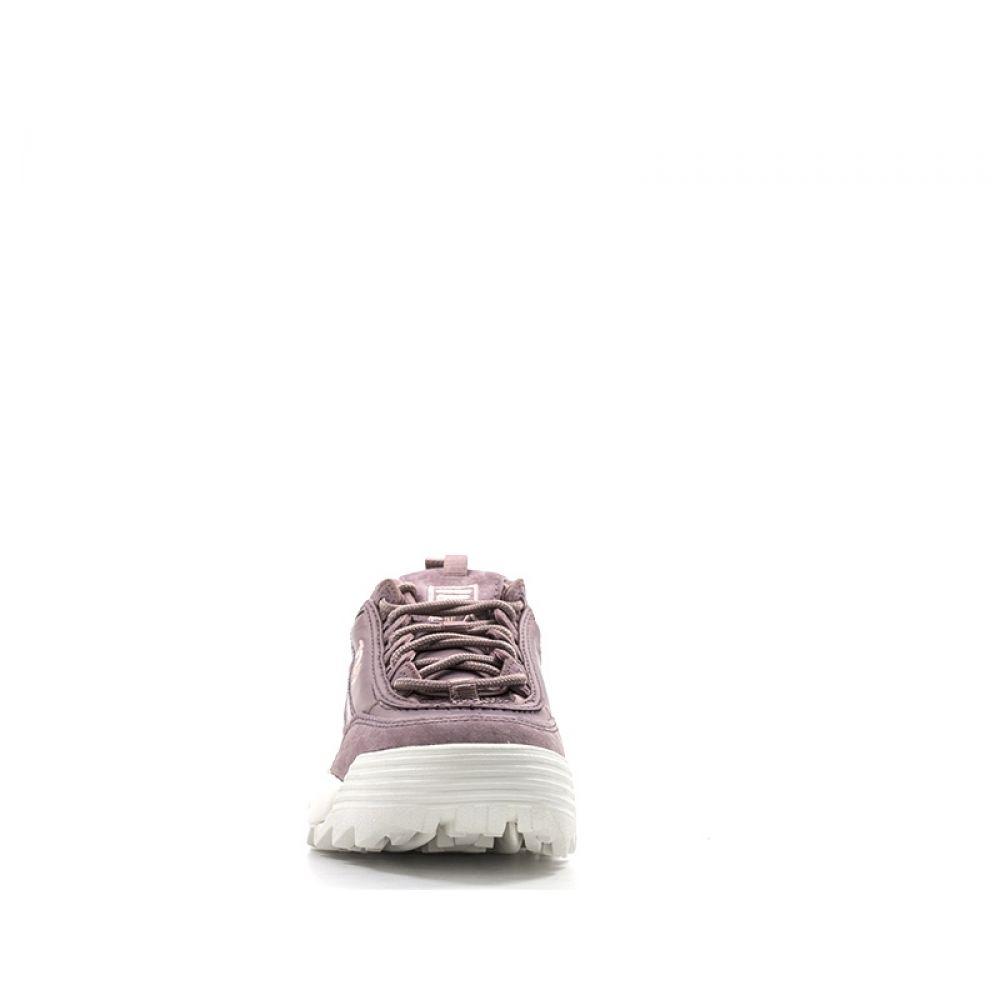 Fila Disruptor Sneaker Donna Lilla In Pelle