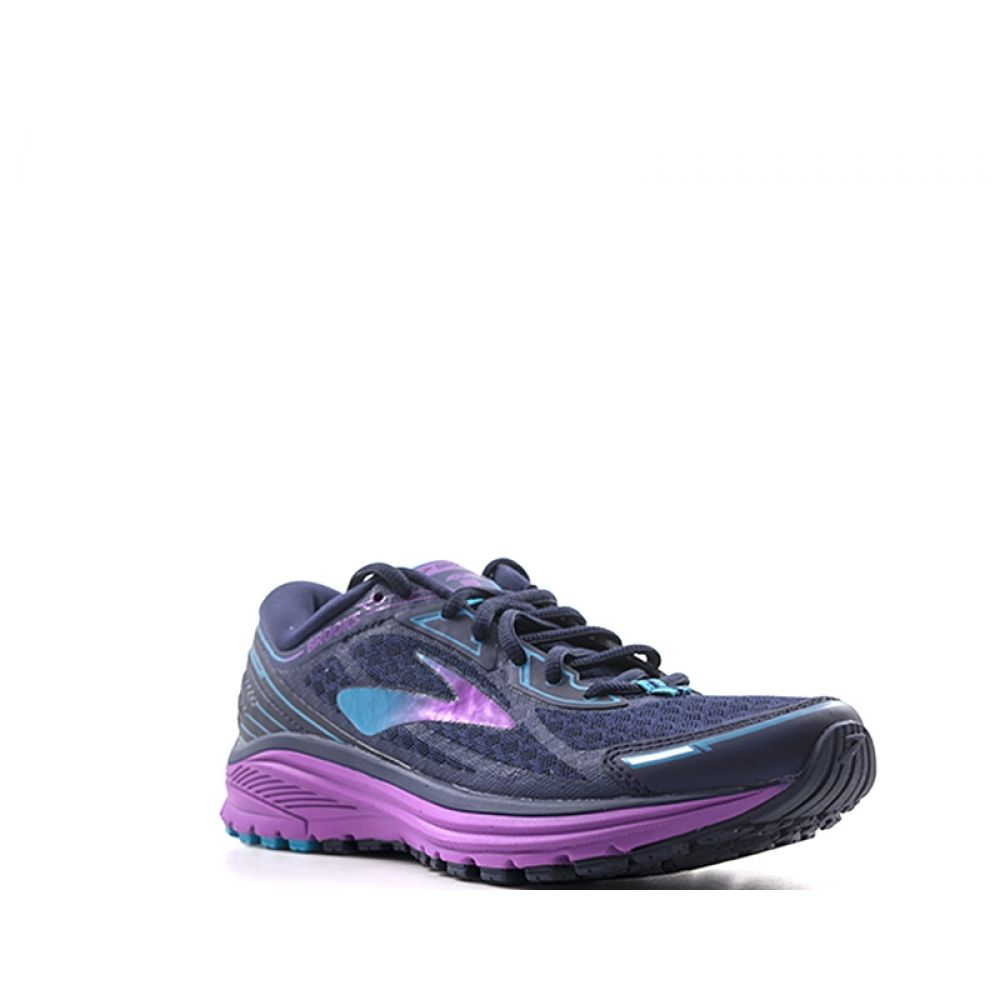 Brooks Aduro 5 Scarpa Running Donna Blu viola In Tessuto