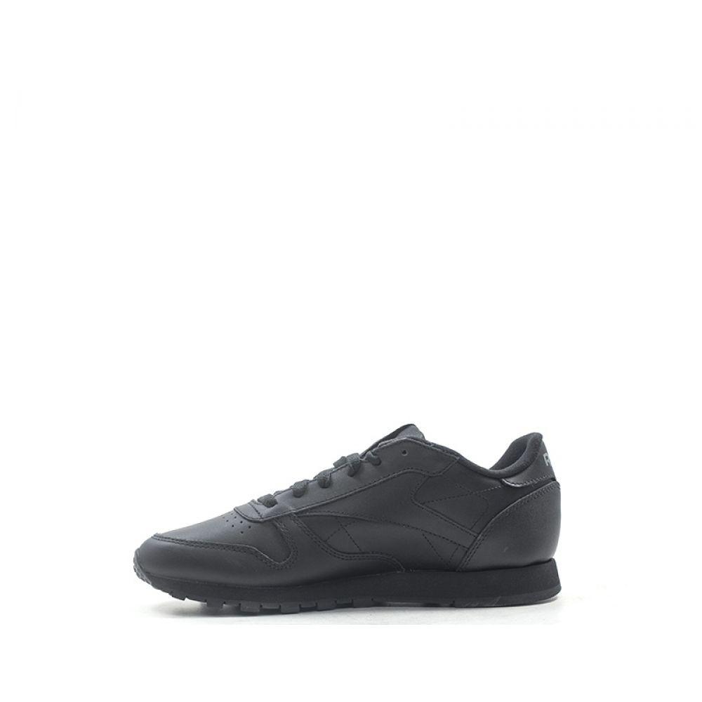 Reebok Cl Lthr Sneaker Donna Nera In Pelle