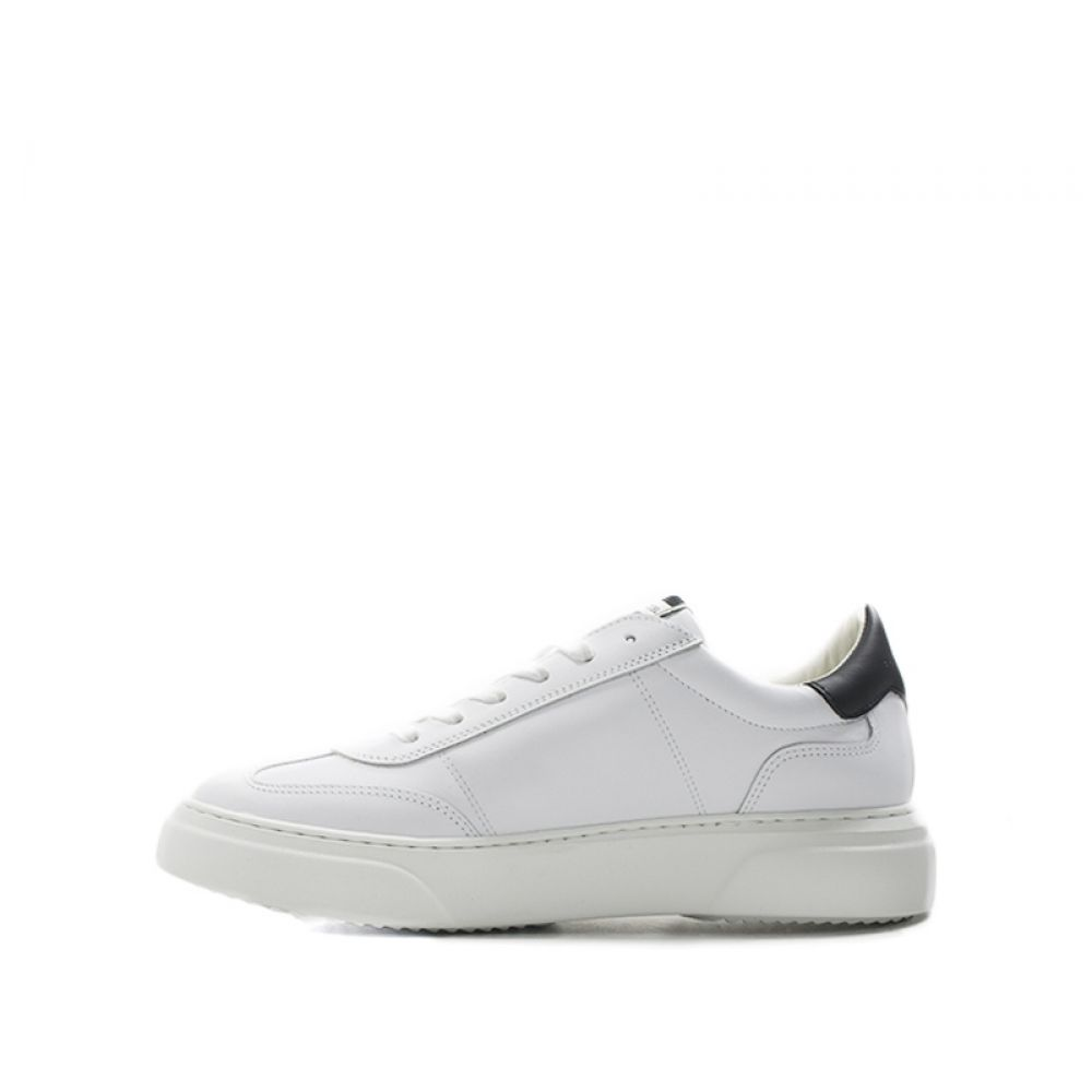 PHILIPPE MODEL TEMPLE Sneaker uomo bianca/nera pelle - Grandi Affari
