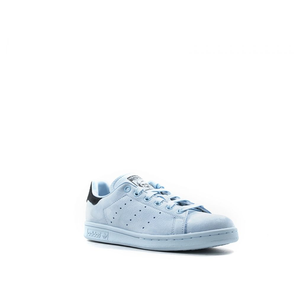 Adidas Stan Smith Sneakers Donna Azzurra In Pelle
