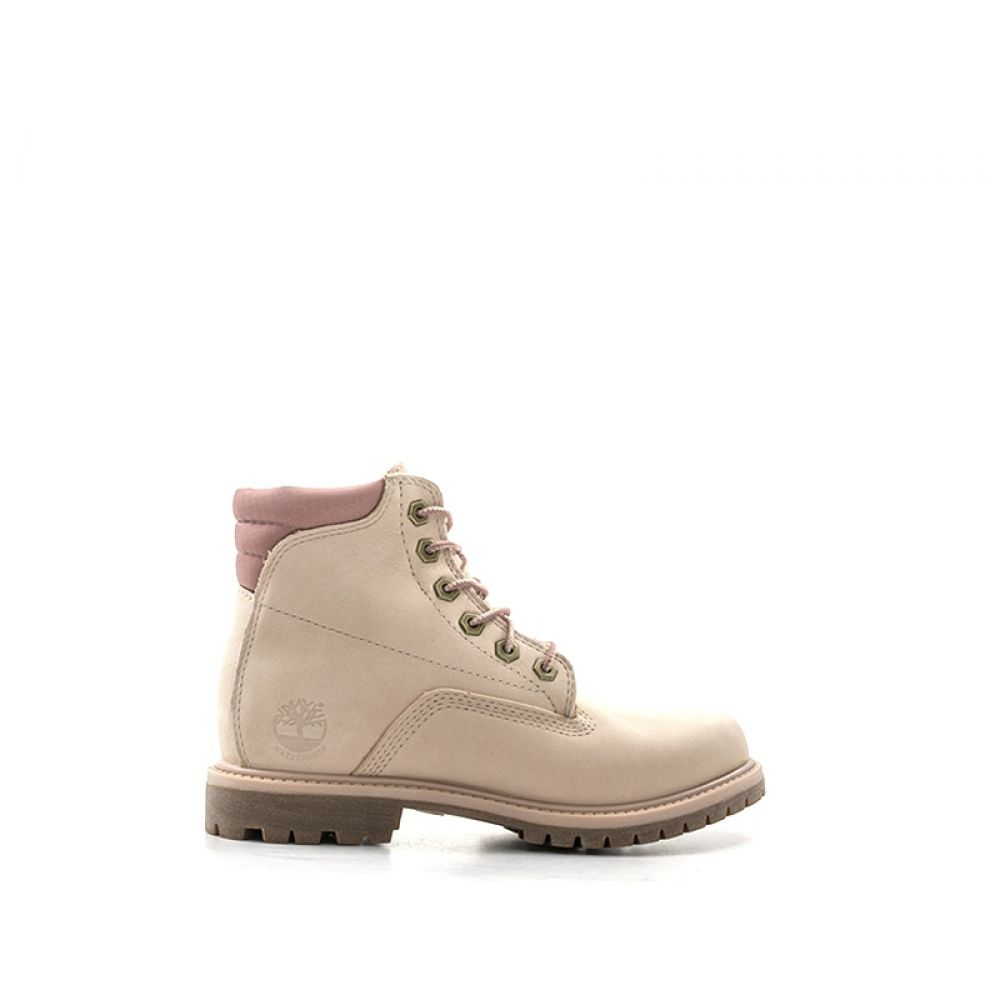 Timberland Polacco Donna Rosa In Pelle