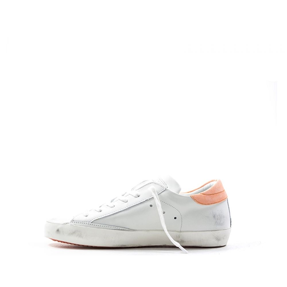 Philippe Model Sneaker Donna Bianco arancio