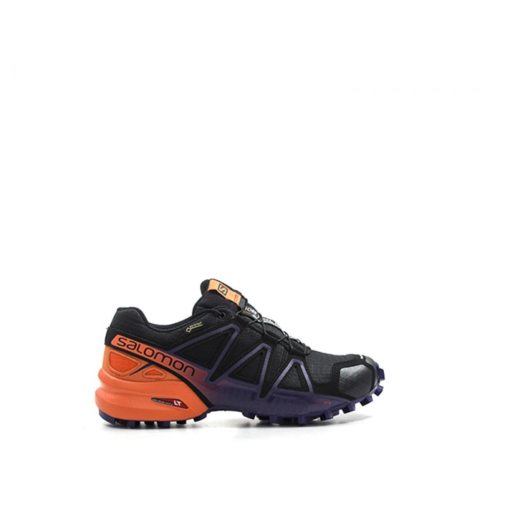 Salomon Speedcross 4 Scarpa Running Donna Nera In Tessuto Nero