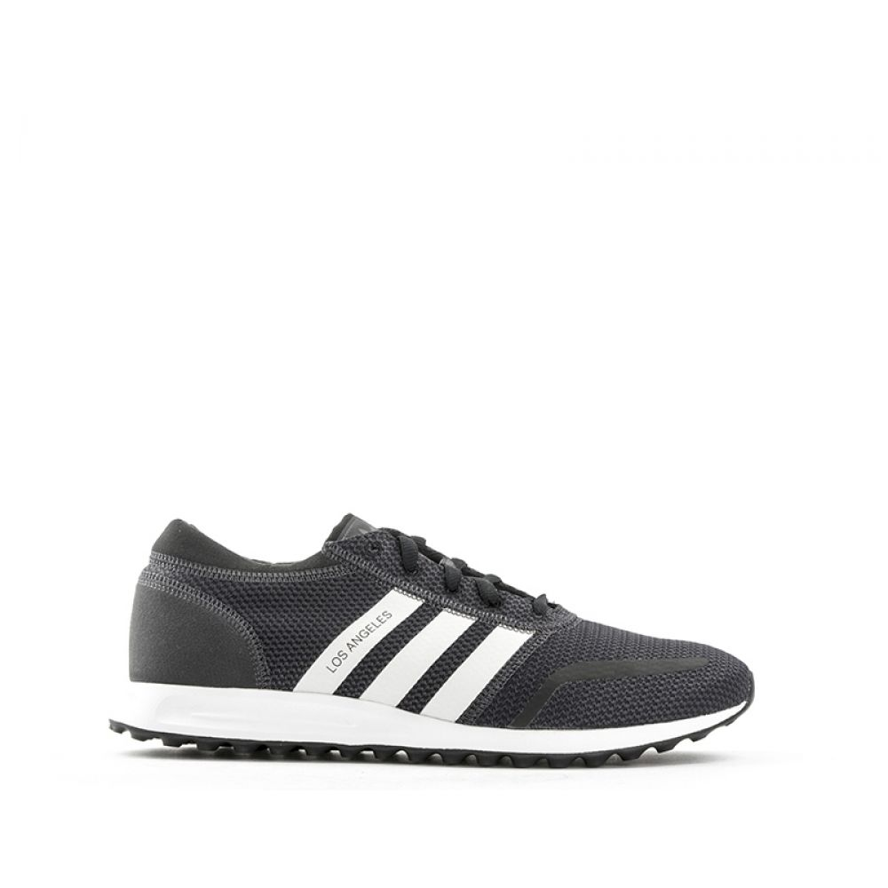 premium selection 2d93a a16a5 Sneaker Nera bianca Angeles Los Tessuto In Uomo Adidas