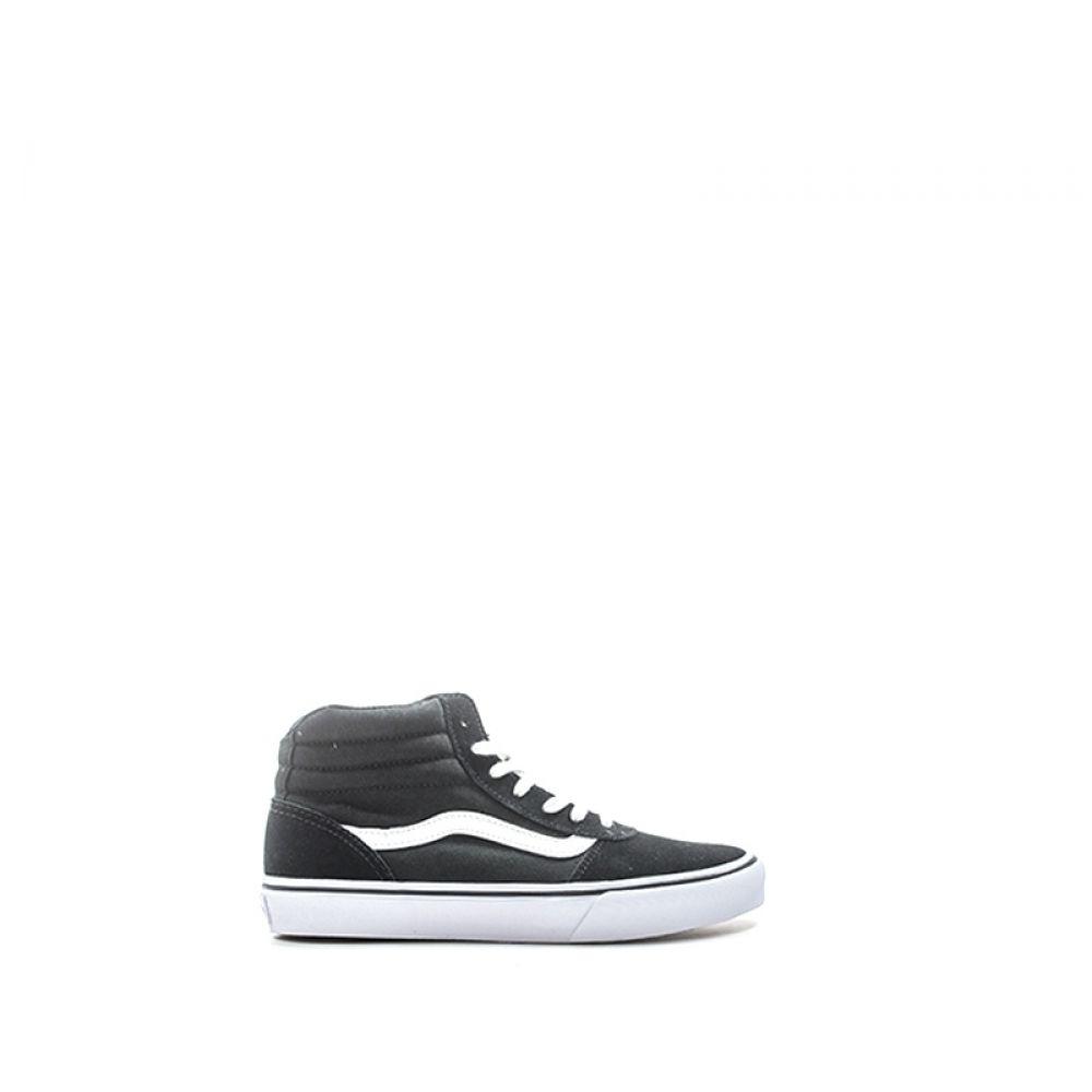 Vans Maddie Sneaker Donna Nera bianca In Suede E Tessuto Nero