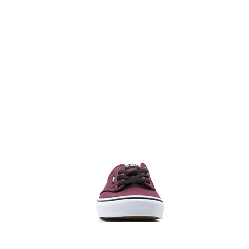 Vans Atwood Sneaker Ragazzo Bordeaux In Tessuto