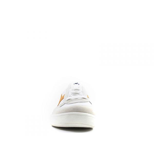 DIADORA HERITAGE B. ELITE Sneaker uomo biancaarancio