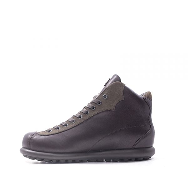 CAMPER Polacchino uomo marrone in suede/pelle ml3CYk