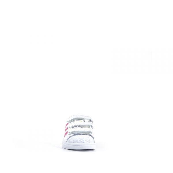 adidas superstar bimba bianca