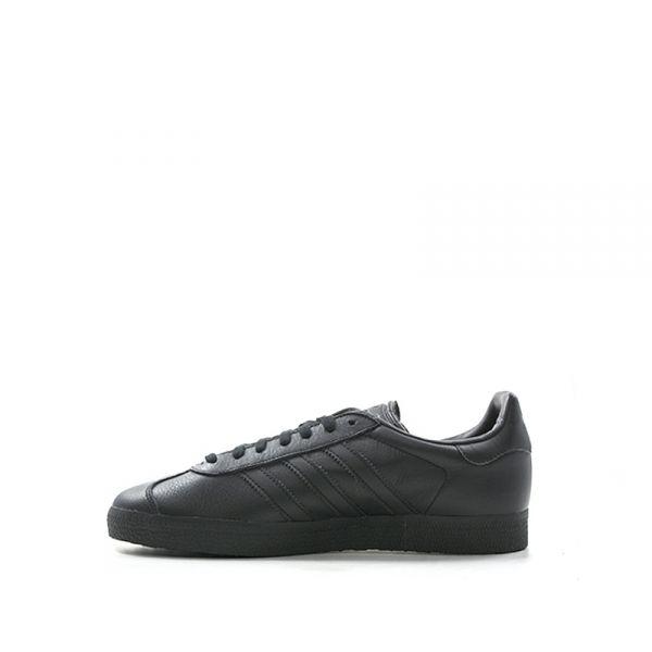 ADIDAS GAZELLE Sneaker uomo nera in suede