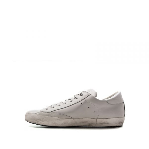 PHILIPPE MODEL Sneaker trendy uomo bianca in pelle NBNHaU