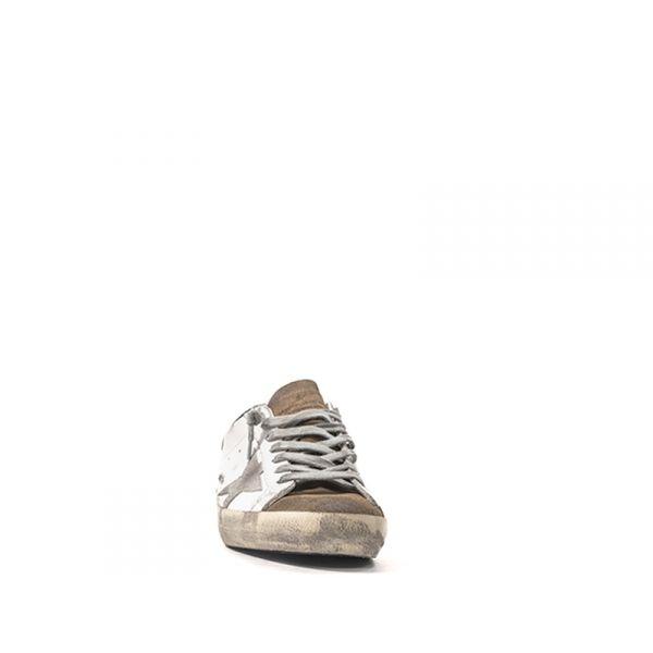GOLDEN GOOSE Sneaker trendy uomo bianca in pelle wR9iwu