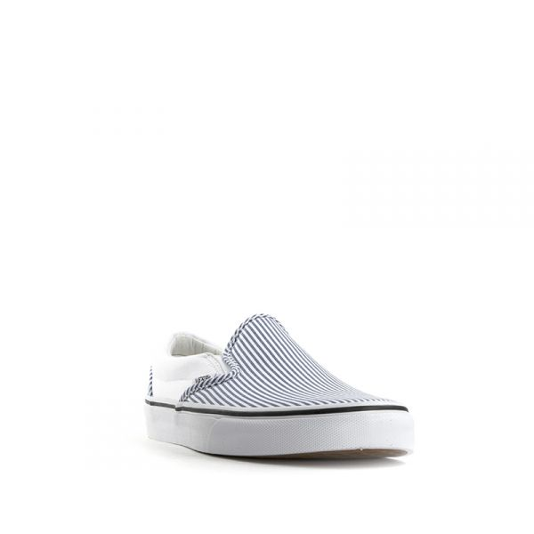 VANS SLIP ON Sneaker uomo in tessuto stampa righe  3709a7b4a2a