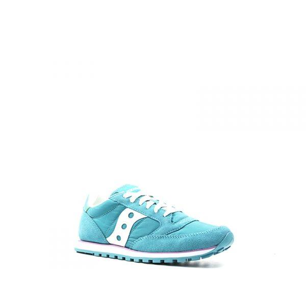 SAUCONY JAZZ LOW PRO Sneaker donna azzurra suede