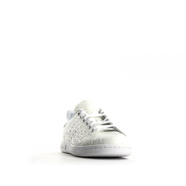 ADIDAS STAN SMITH Sneaker donna ghiaccio pelle stropicciata