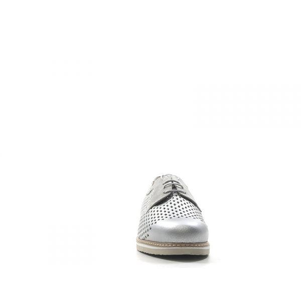 IMPRONTA TOMASI Sneaker donna argento pelle WQoTgq