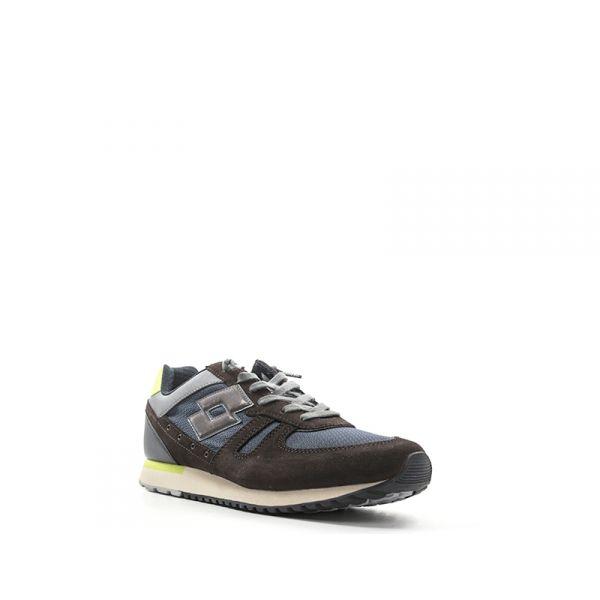 Scarpe LOTTO LEGGENDA Uomo Sneakers  MARRONE//BLU  T0849