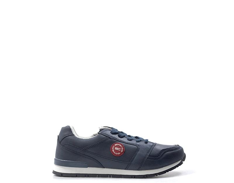Dettagli su Scarpe ENRICO COVERI Bambini Sneakers Trendy BLU PU E77R261NYS