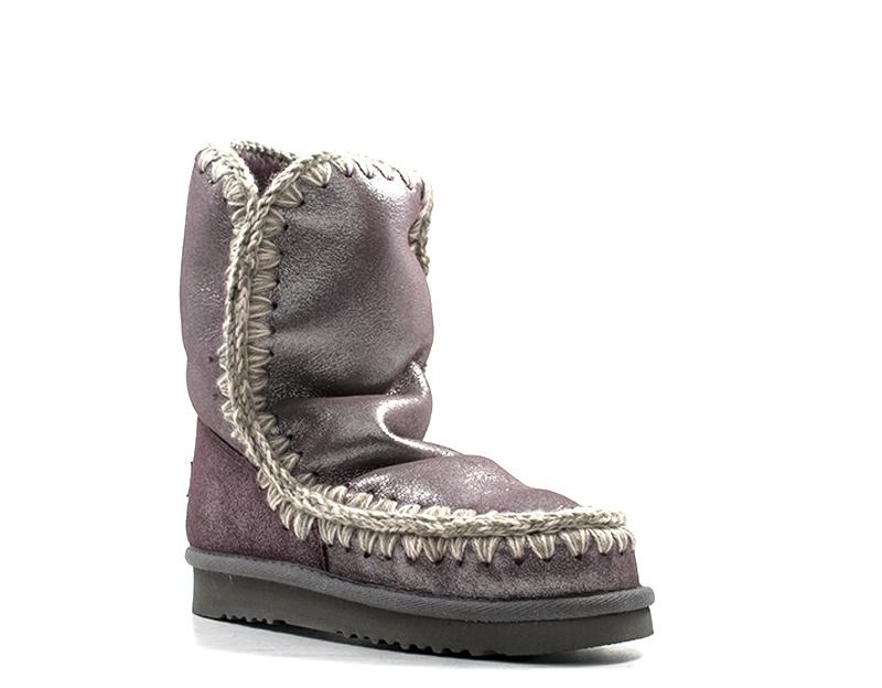 wholesale dealer 38947 92d07 Dettagli su Scarpe MOU Donna Ugg VIOLA Pelle naturale ESKIMO24LIM-MGWIN