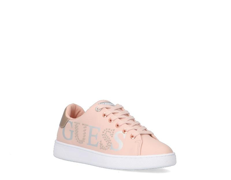 Donna Sneakers Trendy  ROSA Glitter,Pelle naturale,Scamosciato,T Scarpe D.A.T.E