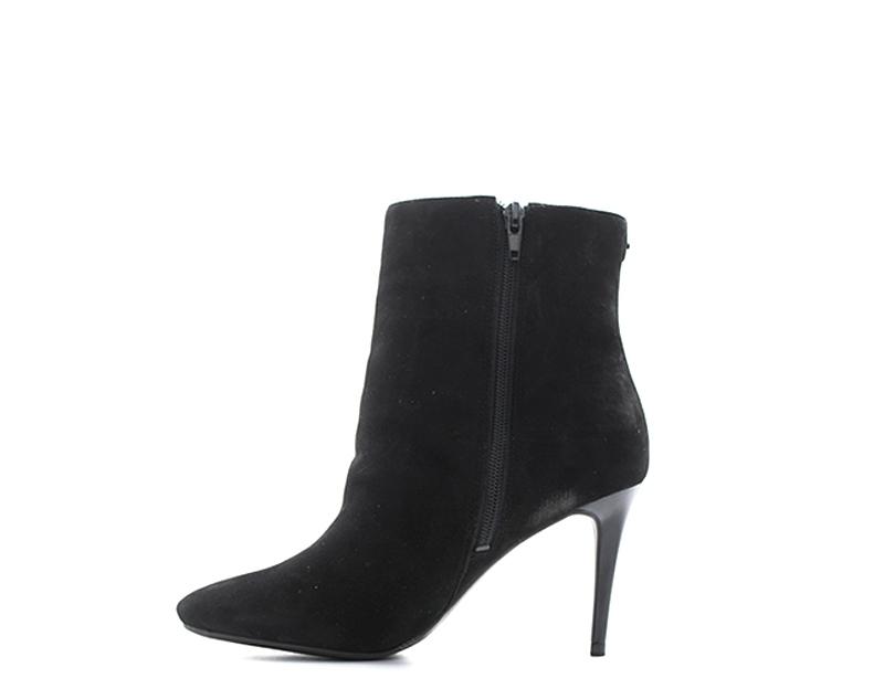 Femme Sur Détails Guess Daim Flbin3sue10n En Nero Tronchetti Chaussures wOPTXuikZ