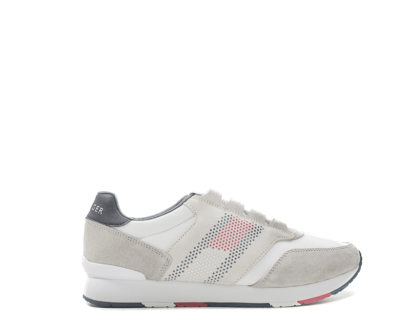 TOMMY HILFIGER Sneakers trendy uomo bianco