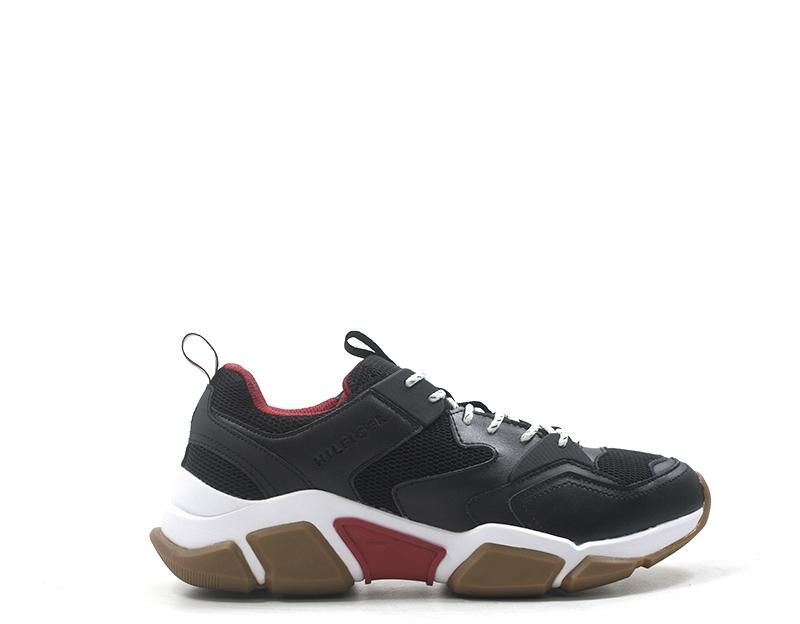 TOMMY HILFIGER Sneakers trendy uomo nero