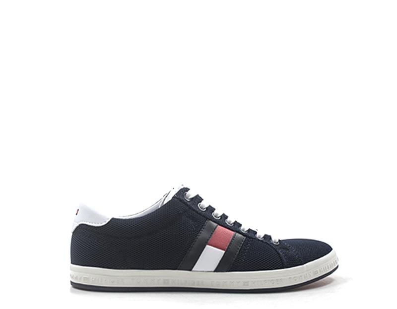 TOMMY HILFIGER Sneakers trendy uomo blu