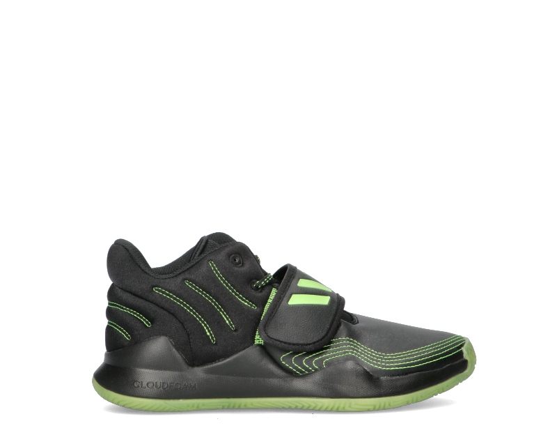 ADIDAS Basket Ragazzo bambini nero/verde