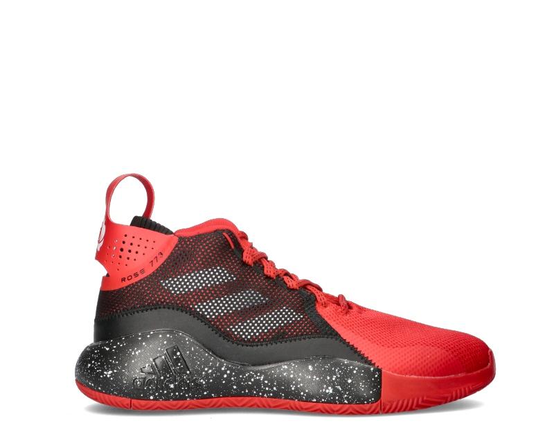 ADIDAS Basket Uomo uomo rosso/nero